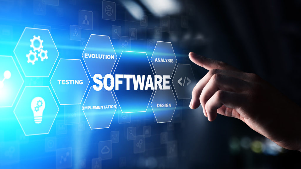 Software,Development,And,Business,Process,Automation,,Internet,And,Technology,Concept